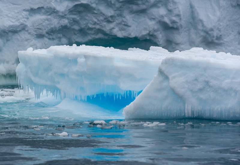 Ice bergs in the Bay of Whales, Antarctica