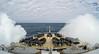 Rough seas in the Ross Sea