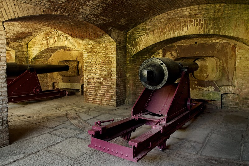 We took a tour of Ft. Sumter, near Charleston.<br /> Photo © Cindy Clark