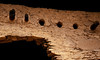 Detail from the Gila Cliff dwellings.<br /> Photo © Cindy Clark