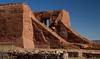Ruins of the Spanish mission at Pecos National Historic Park.<br /> Photo © Cindy Clark