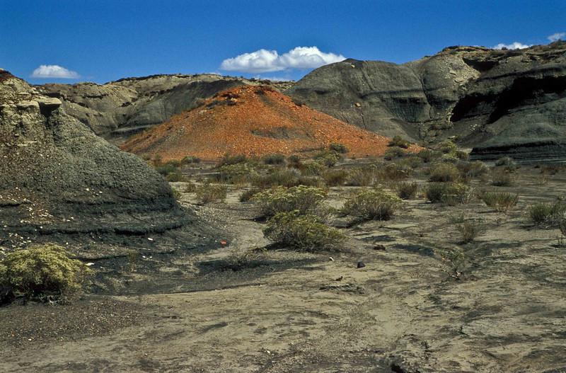 The harsh landscape at Bisti Badlands.<br /> Photo © Carl Clark