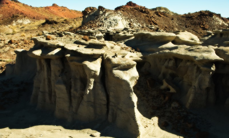 Bisti Badlands, New Mexico<br /> Photo © Cindy Clark