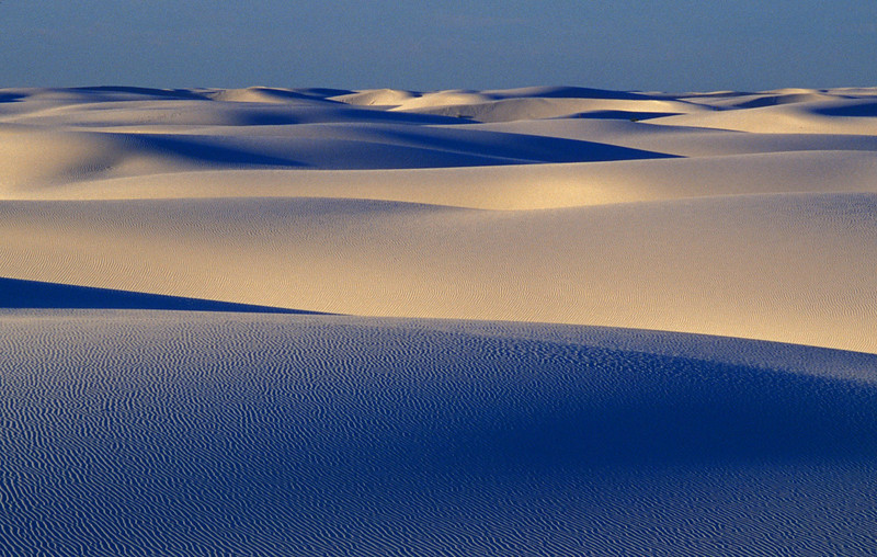 Serene dunes at White Sands.<br /> Photo © Cindy Clark