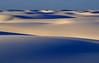 Serene dunes at White Sands.<br /> Photo © Cindy Clark