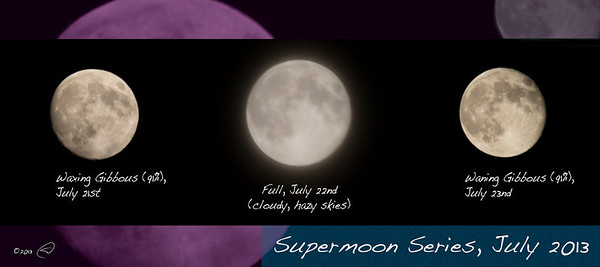 Supermoon series
