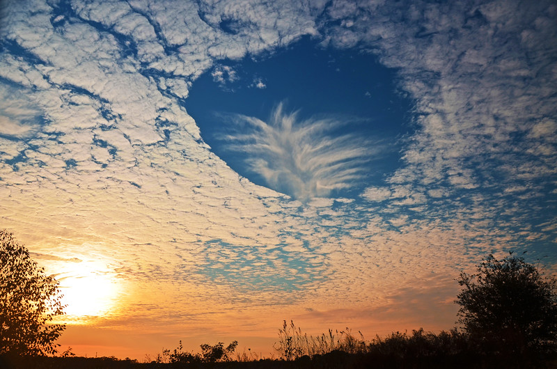 Hole in the Sky (Hole Punch Clouds)