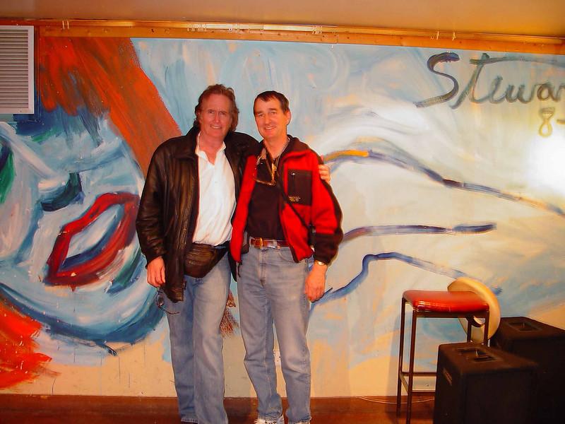 John Stewart and Peter Overly