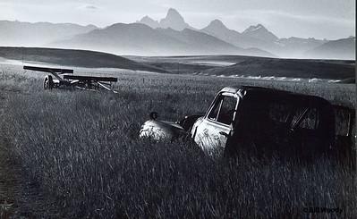 Teton Truck Rexberg Plane