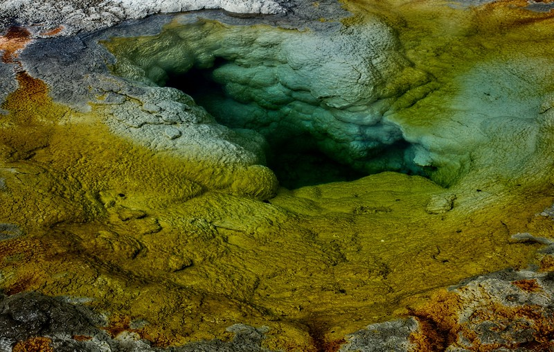 Yellowstone is like Dr. Seuss let loose with geology.<br /> Photo © Cindy Clark