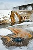 Chinese Spring in Yellowstone's Upper Geyser Basin.<br /> Photo © Carl Clark