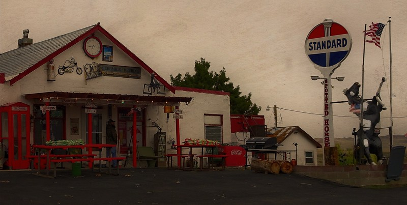 Realism in Spotted Horse, Wyoming.<br /> Photo © Cindy Clark