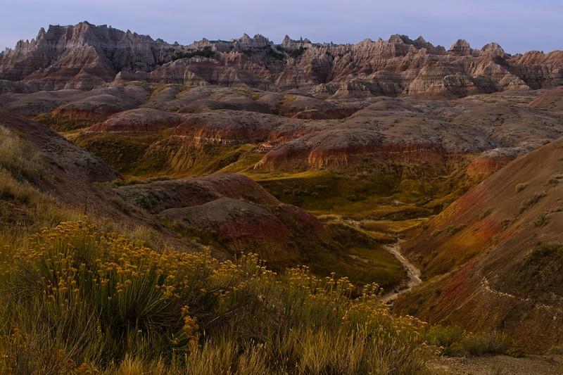 The Badlands are a photographer's playground!<br /> Photo © Cindy Clark