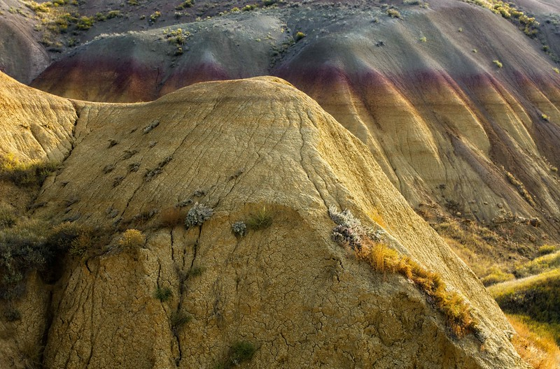 Another place of surreal colors - Badlands National Park.<br /> Photo © Cindy Clark