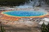 Grand Prismatic Spring at Yellowstone National Park.<br /> Photo © Cindy Clark