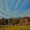 Badlands, South Dakota.<br /> Photo © Carl Clark