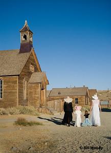Walking to Church #2 Sept 2008
