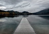 Dock - Lake McDonald, Montana