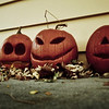 Jack-o'-lanterns.