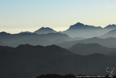 View from Mt Sinai
