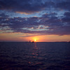 Sunset off Mallory Square  Key West 1996 - scanned Kodak film