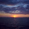 Sunset off Mallory Square  Key West 1996 - scanned Kodak film