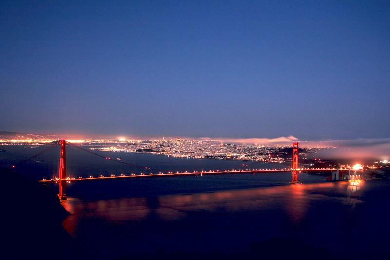 Golden Gate Bridge - San Francisco California 2007