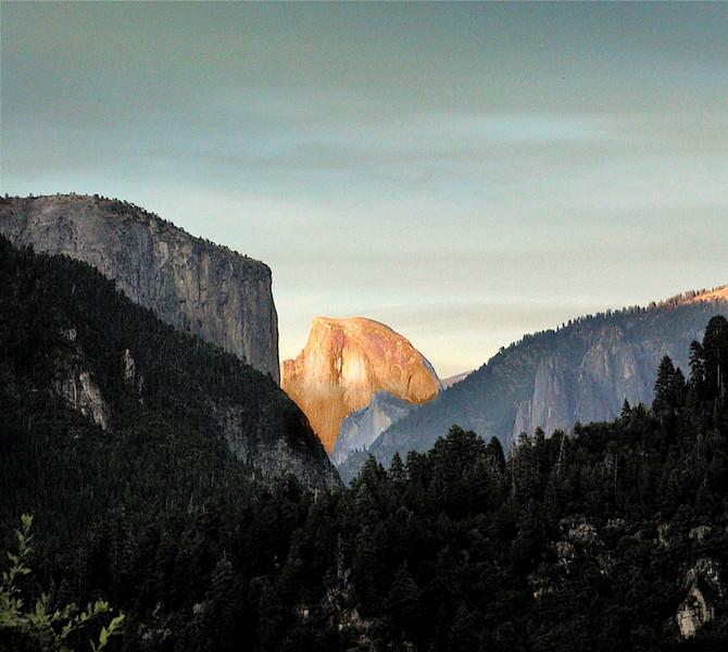 El Capitan and Half Dome - Yosemite National Park