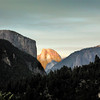 El Capitan and Half Dome - Yosemite National Park