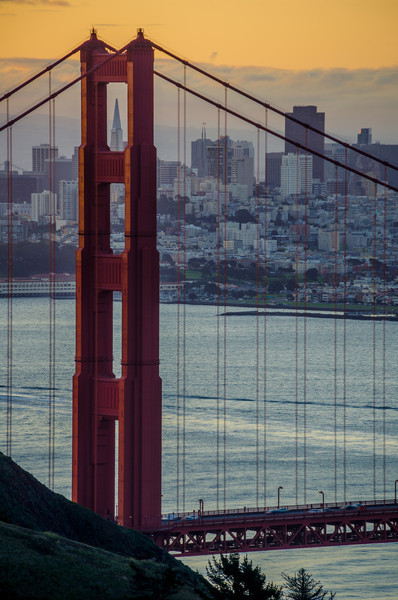 Peaking Thru the Bridge – San Francisco, California
