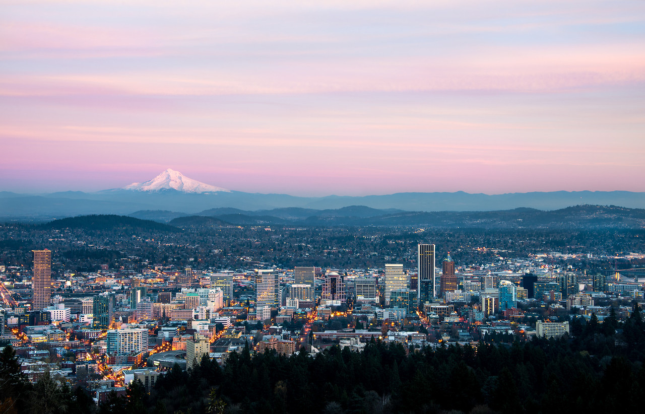 From Above – Pittock Mansion // Portland, Oregon