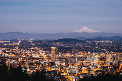The City Glows - Portland, Oregon