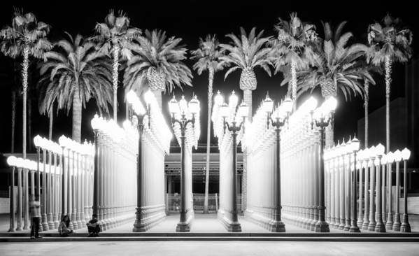 Night Lights – 'Urban Light' // Los Angeles, California