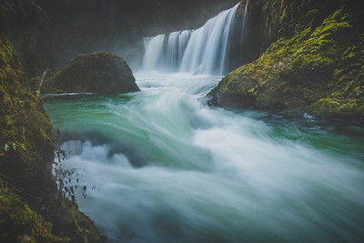 We Let it All Go – Spirit Falls // Carson, Washington