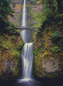 A Fleeting Moment - Multnomah Falls, Oregon