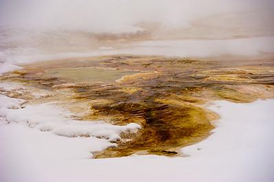 Yellow Runoff at Mammoth