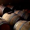 Oak wine barrels, Hudson Valley, NY - c.1986