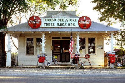 Turnbo General Store, Three Brothers, Arkansas. October, 1976.