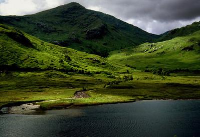 Loch; Scotland, 1983.
