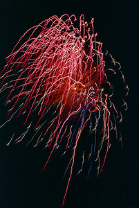 Fireworks display, Spokane Washington, 1978