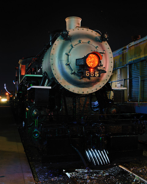 Light Painting a Locomotive