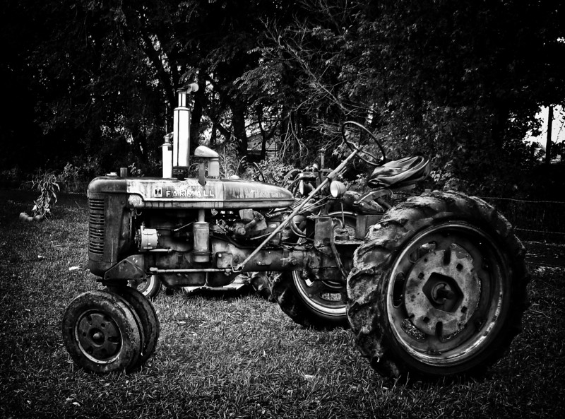 Old Tractor.