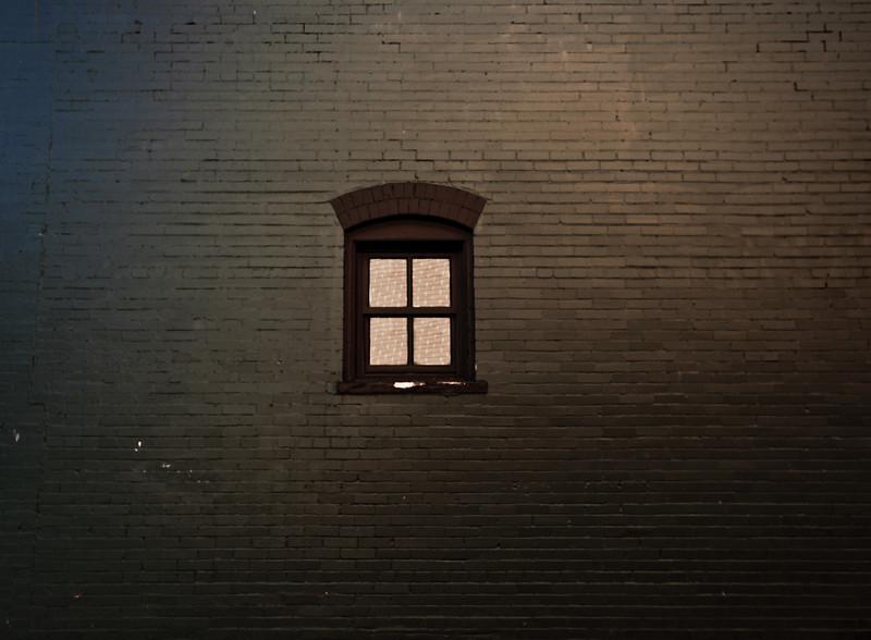 Odd window.
