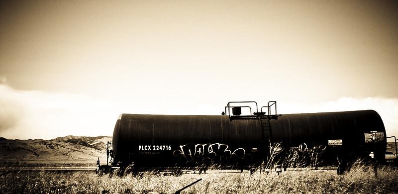 Train car.