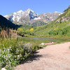 Maroon Bells Near Aspen Colorado 25
