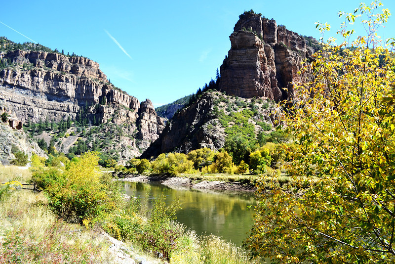 Colorado River Near Glenwood Springs
