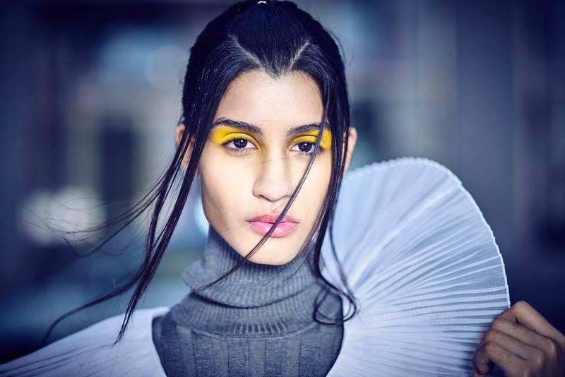 June  24-, 2017- New York, NY - Chelsea area gallery shoot with Major Models<br /> <br /> Photographer: Robert Altman<br /> Wardrobe/Creative Director: Lauren Mahal / ASJ Mahal<br /> HMUA: Jesse Genoa<br /> <br /> Modela: Shaanti Chaitram , Juliana Abrad<br /> <br /> Credit: Robert Altman