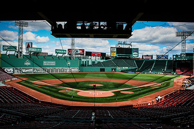 Behind the Plate in Fenway