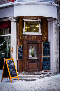 Montreal Restaurant Signs