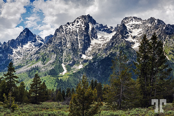Grand Teton Mountains, Wyoming
